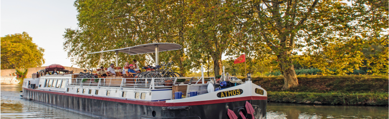 BARGE CRUISES Leisurely cruise the canals of Europe